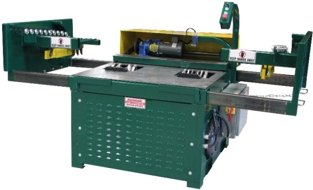 Features and Specs. Double Head Notcher   Pallet Recycling  Recovery   Repair